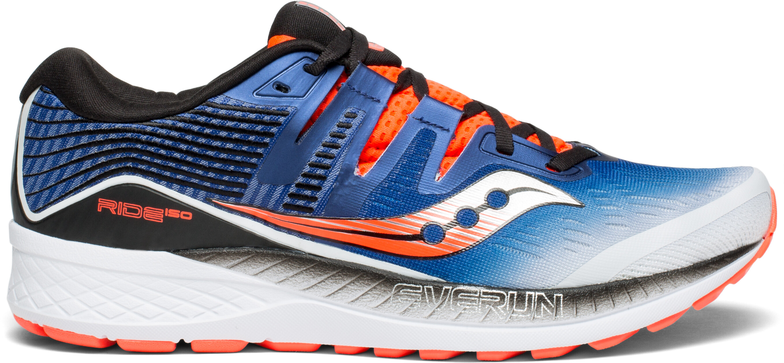 27af811ffe7 saucony Ride ISO - Chaussures running Homme - bleu blanc - Boutique ...